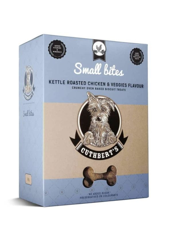Cuthbert's – Kettle Roasted Chicken & Veggies Small Bites Biscuits