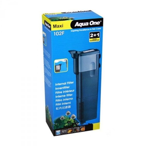 Aqua One® – 102F Maxi Int Filter 450 L/Hr