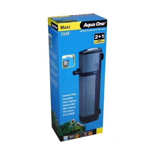 Aqua One® – 104F Maxi Int Filter 1480 L/Hr