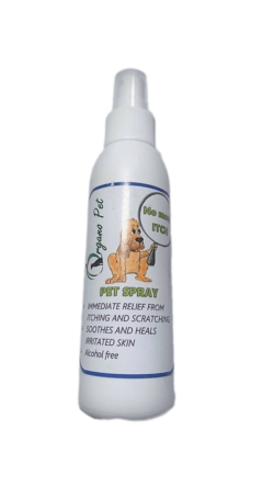 Organo Pet – Pet Spray (Itch and Scratch Relief)