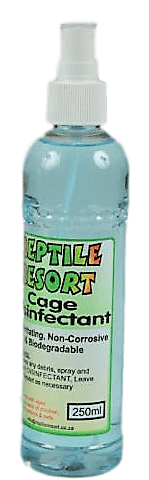 Reptile Resort – Cage Disinfectant Spray 250ml