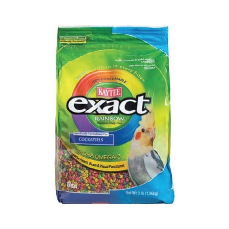 Kaytee – Exact Rainbow Cockatiel Food