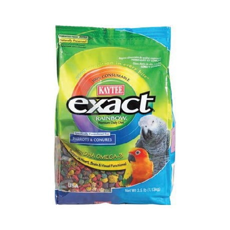 Kaytee – Exact Rainbow Parrot and Conure Food