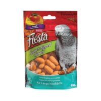 Kaytee – Fiesta Yogurt Dipped Mango Flavor Treat for Large Hookbills
