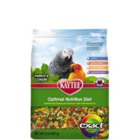 Kaytee – Exact Rainbow Fruity Parrot and Conure Food