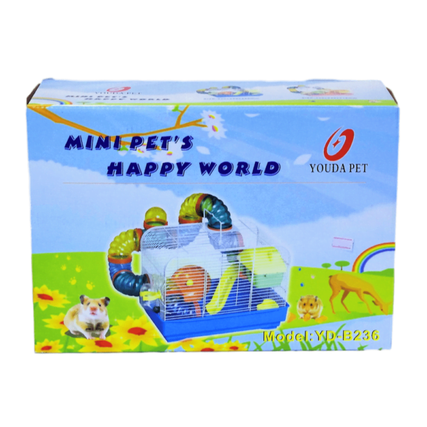 Interpet – Happy World Hamster Habitat