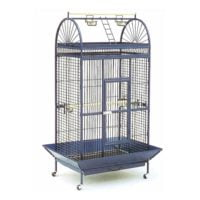 Daro – Parrot Cage with Perch – Steel Blue (102.5 x 79.5 x 176cm)