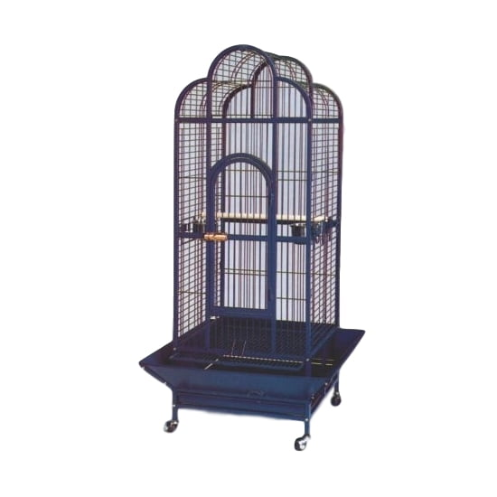 Daro – Parrot Cage – Steel Blue (58,5 x 58,5 x 166cm)