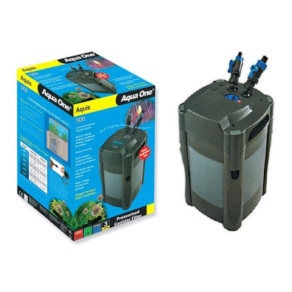 Aqua One® - 500 Aquis Canister Filter 500 L/Hr 3