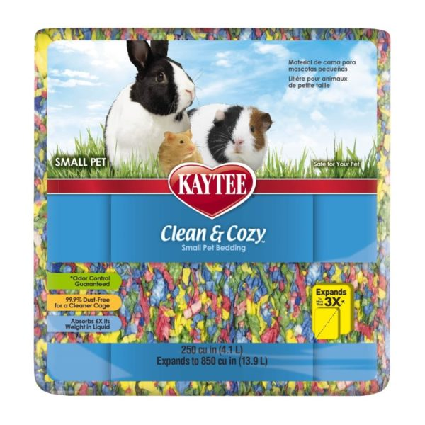 Kaytee – Clean & Cozy Birthday Cake Bedding