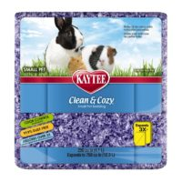 Kaytee Clean & Cozy Purple Bedding