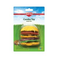 Kaytee – Combo Toy – Crispy & Wood Hamburger