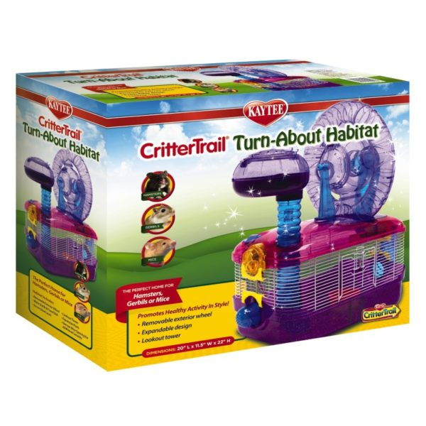 Kaytee – CritterTrail Dazzle Turn-About Habitat