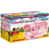 Kaytee – CritterTrail One Level Habitat Pink Edition