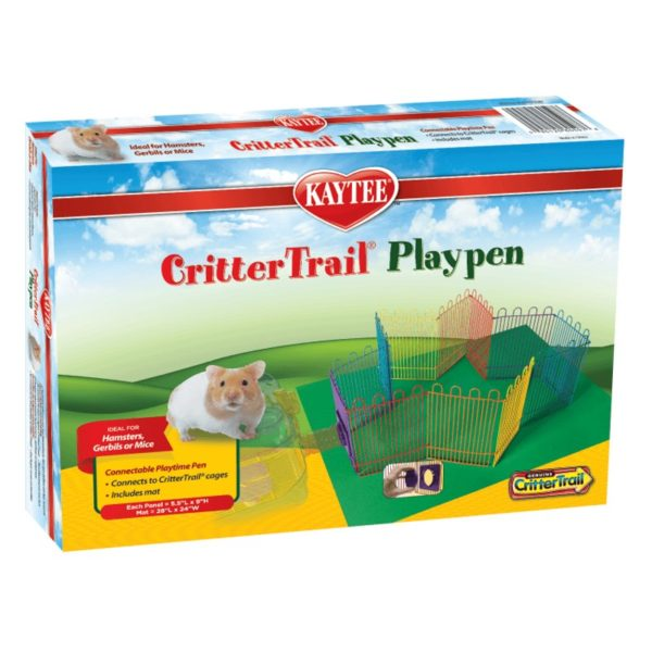 Kaytee – CritterTrail Playpen with Mat