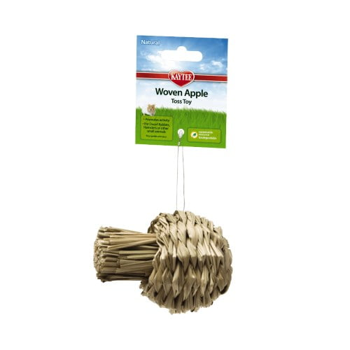Kaytee – Natural Woven Apple Toss Toy