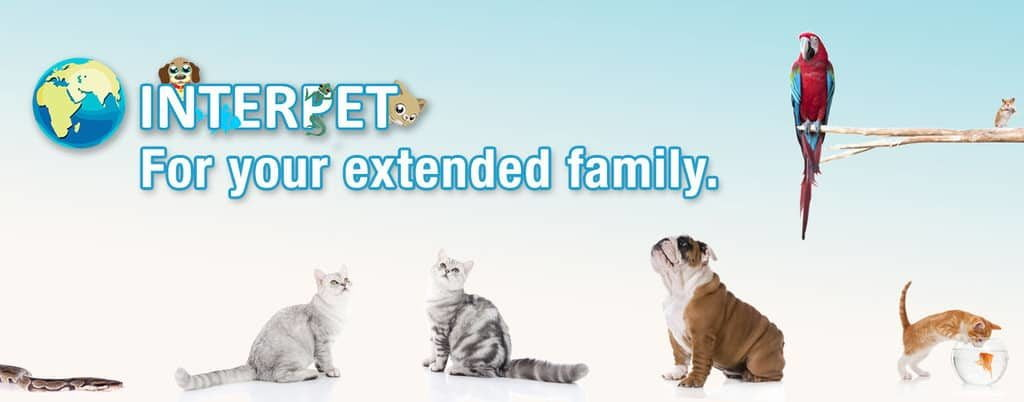 Interpet, for your extended pet family.