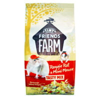 Tiny Friends Farm – Reggie Rat and Mimi Mouse Tasty Mix 850g